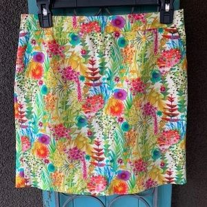 Liberty art fabrics j.crew flower skirt